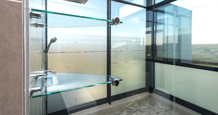 TMG Designs - Showers with vinyl