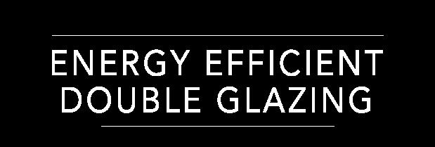 TMG Designs - Energy efficient double glazing